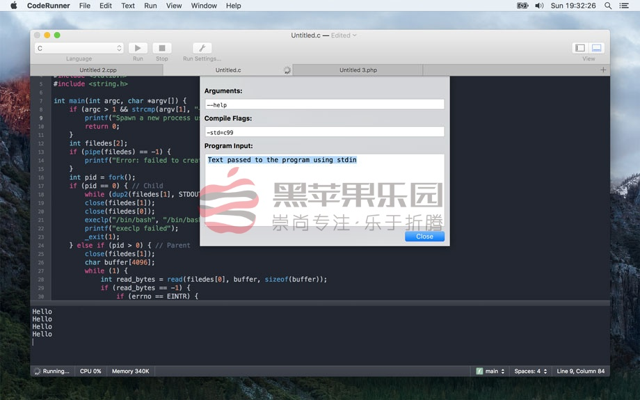 CodeRunner For Mac v3.0.1 堪称编程神器