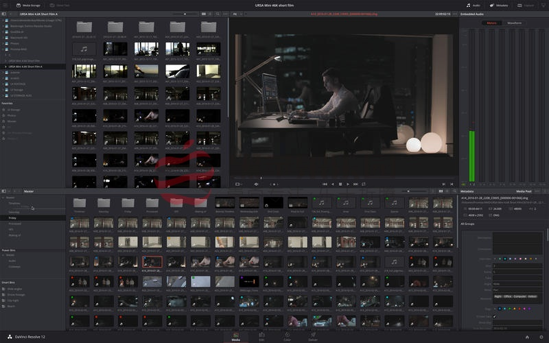 DaVinci Resolve Studio For Mac v15.2.3 达芬奇专业调色软件