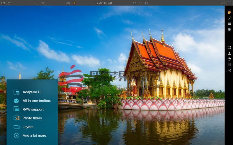 Luminar 4 For Mac v4.1.1 可以替代Lightroom的照片后期软件
