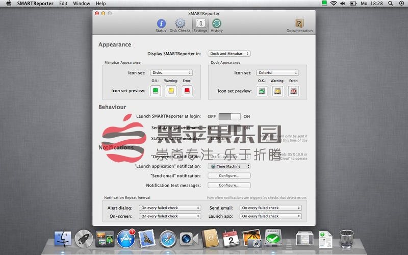 SMARTReporter For Mac v3.1.13 硬盘维护工具