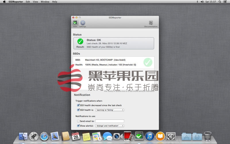 SSDReporter For Mac v1.5.6 SSD硬盘优化大师