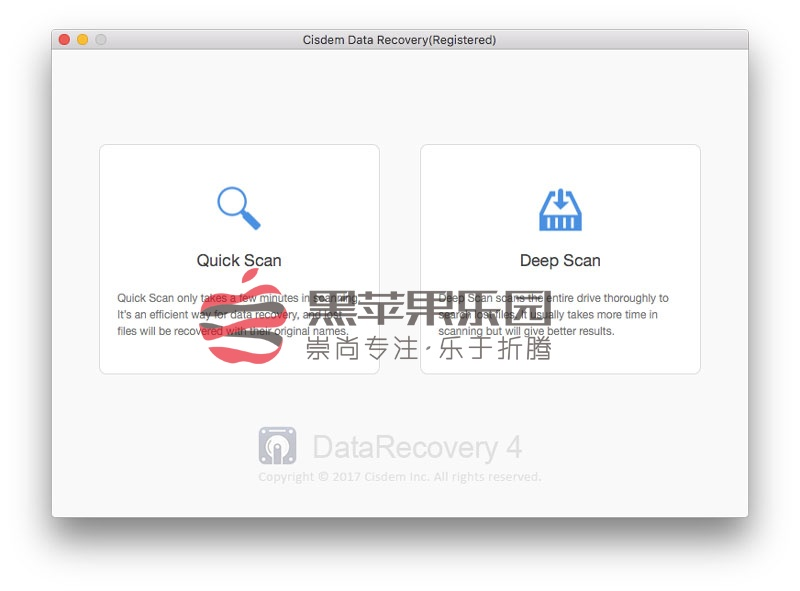 Cisdem Data Recovery v4.0.0 Mac误删数据恢复软件