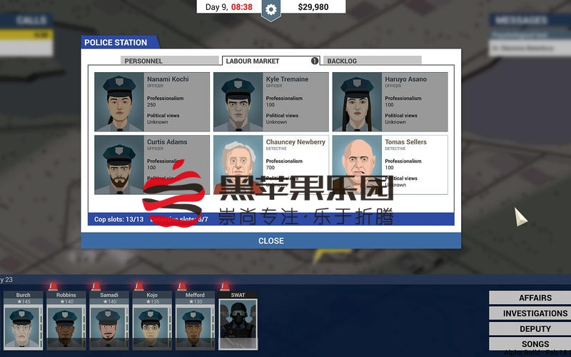 This is the Police For Mac v1.1.3 角色扮演游戏